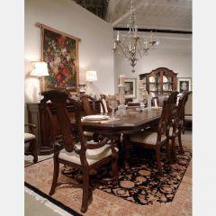 72221 Coronado  Dining Set  (1 Table + 2 Arm + 4 Side)
