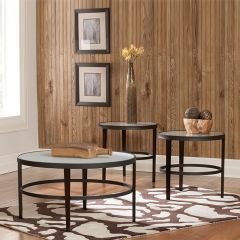 T120-13  Cocktail Table (1 Cocktail + 2 Ends)