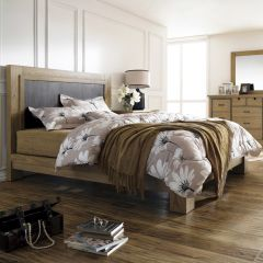 North Shore-Metal  King Panel Bed (침대+협탁+화장대) ~Nautica Brand~