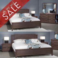 314  QueenPanel Bed (침대+협탁+화장대)
