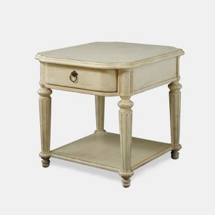 Provenance 76304  Drawer End Table (SBS '가면' 속 연정훈, 유인영 거실)