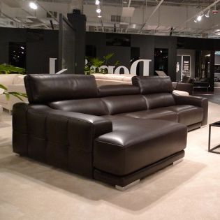 2501  Leather Sofa LAF