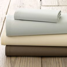 Fitted Sheet Queen (Ivory)  ~Mattress Cover100% Cotton (커버1장)~