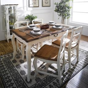 D9337-4  Dining Set  (1 Table + 4 Chairs)