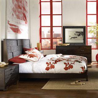168 Sahara Platform Bed (침대+협탁+화장대)