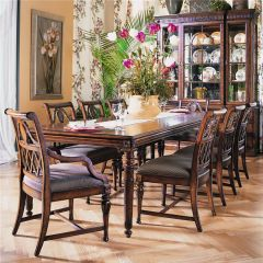 410-814 Dining Set (1 Table + 2 Arm + 4 Side)