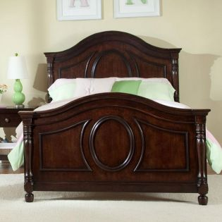 0851-4103 Savannah  Panel Twin Bed (침대) (매트 규격: 134cmx 193cm)