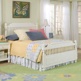 0850-4203K Olivia  Low Poster Full Bed (침대) (매트 규격: 134cmx 193cm)