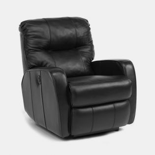 1345-500P  Leather Recliner
