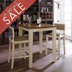 D335-2  Island Dining Set (1 Table + 2 Chairs)