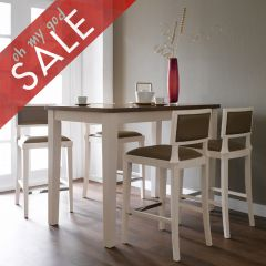 D325-4  Island Dining Set (1 Table + 4 Chairs)