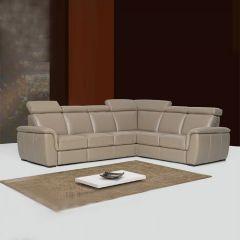 Imola  Leather Sofa