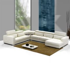 Prato  Leather Sofa