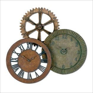 6731  Rusty Gears, Clock