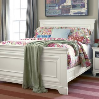 Classics 131A040  Panel Full Bed (침대) (매트 규격: 134cmx 193cm)