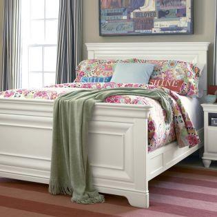Classics 131A040  Panel Full Bed (침대) (매트 규격: 134cmx 193cm)