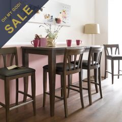 D397-4  Island Dining Set (1 Table + 4 Chairs)
