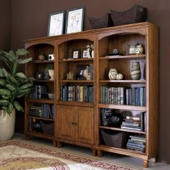 H3514-20 Open Bookcase ~Beautifully Designed~