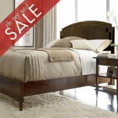 264-13 Classic Portpolio Vintage  Upholstered Bed (침대+화장대)
