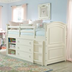 485-8333K Enchantment  Mid Loft Bed