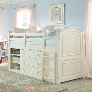 485-8333K Enchantment  Mid Loft Bed