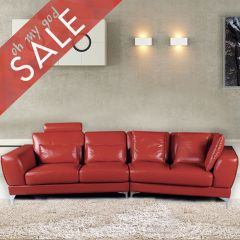 5224L  Leather Sofa (Right or Left)