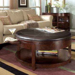 T1096-45  Round Cocktail Table