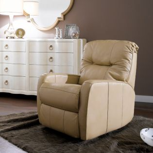 1345-510  Leather Rocker Recliner