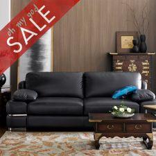 7253  Leather Sofa