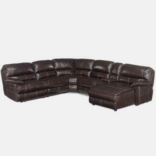 SS606-RC-089  Leather Recliner Sofa