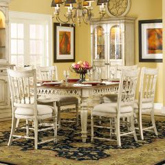 479-75-200  Dining Set (1 Table + 2 Arm + 4 Side)