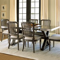 Great Room 311755  Flatiron Dining Set (1 Table + 6 Chairs)