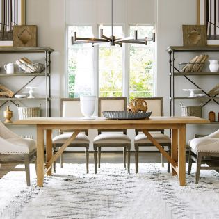 Great Room 318751  Chelsea Dining Set (1 Table + 6 Chairs)