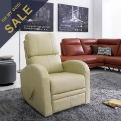 8-4402 Voyager II  Leather Recliner