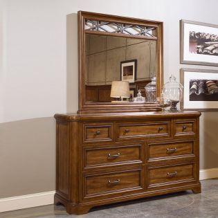 77130 Copper Ridge  Dresser+Mirror