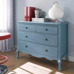 B2185-11B  3-Drawer Chest (Blue)
