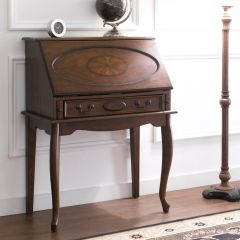 Y3234-30  Wood Secretary Desk