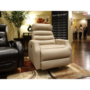 16-4229 Sawyer  Leather Recliner