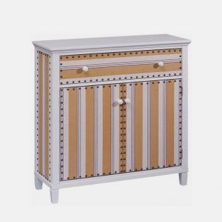 13004  Cabana Stripe Drawer Chest