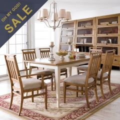 D3503-20  Dining Set (1 Table + 4 Side)~Best Quality~