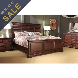 285-25 Del Mar  Queen Panel Bed ~한정판매~