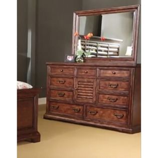 285-02/02M Del Mar  Dresser & Mirror ~한정판매~