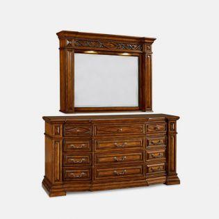 44131 Marbella  Dresser & Mirror