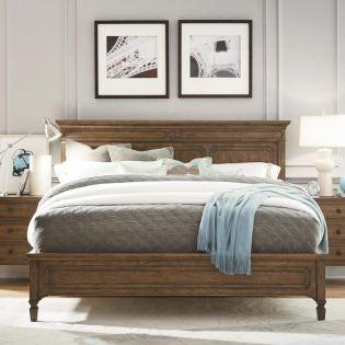 Remix 501250B  Panel Bed (침대+협탁+화장대)