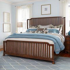 The Tybee 596260B  Island Bed (침대+협탁+화장대)