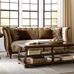 513501-5101AA Ava Adele Tufted Back Sofa