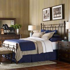 5200-5005 Barrington Farm Metal Bed (침대+협탁+화장대)