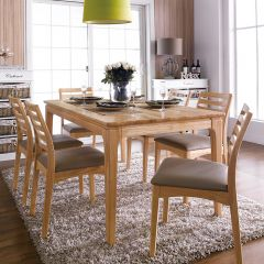 Ruben-6  Dining Set(1 Table + 6 Chairs)
