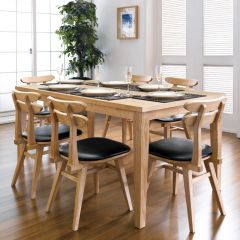 Robin-6  Dining Set(1 Table + 6 Chairs)