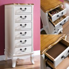 B2971-16  Wood Lingerie Chest